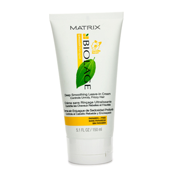 Biolage Smooththerapie Deep Smoothing Leave In Cream (For Unruly Frizzy Hair) Matrix Image