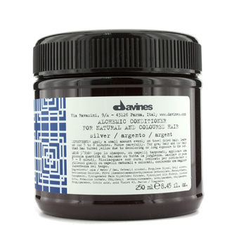 Alchemic-Conditioner-Silver-(For-Natural-and-Gray-Hair)-Davines