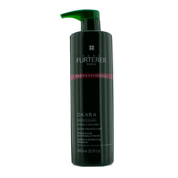 Okara-Radiance-Enhancing-Shampoo---For-Color-Treated-Hair-(Salon-Product)-Rene-Furterer