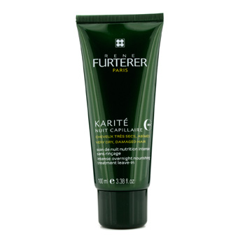 Karite-Intense-Overnight-Nourishing-Treatment-Leave-in-(For-Very-Dry-Damaged-Hair)-Rene-Furterer