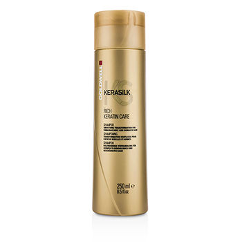 Kerasilk-Rich-Keratin-Care-Shampoo---Smoothing-Transformation-(For-Unmanageable-and-Damaged-Hair)-Goldwell