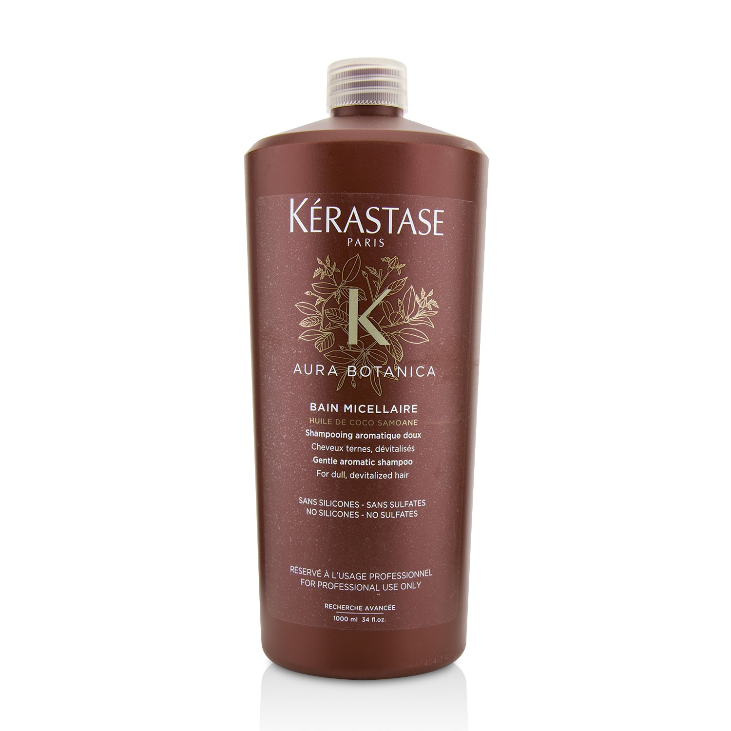 Aura Botanica Bain Micellaire Gentle Aromatic Shampoo (For Dull Devitalized Hair) Kerastase Image