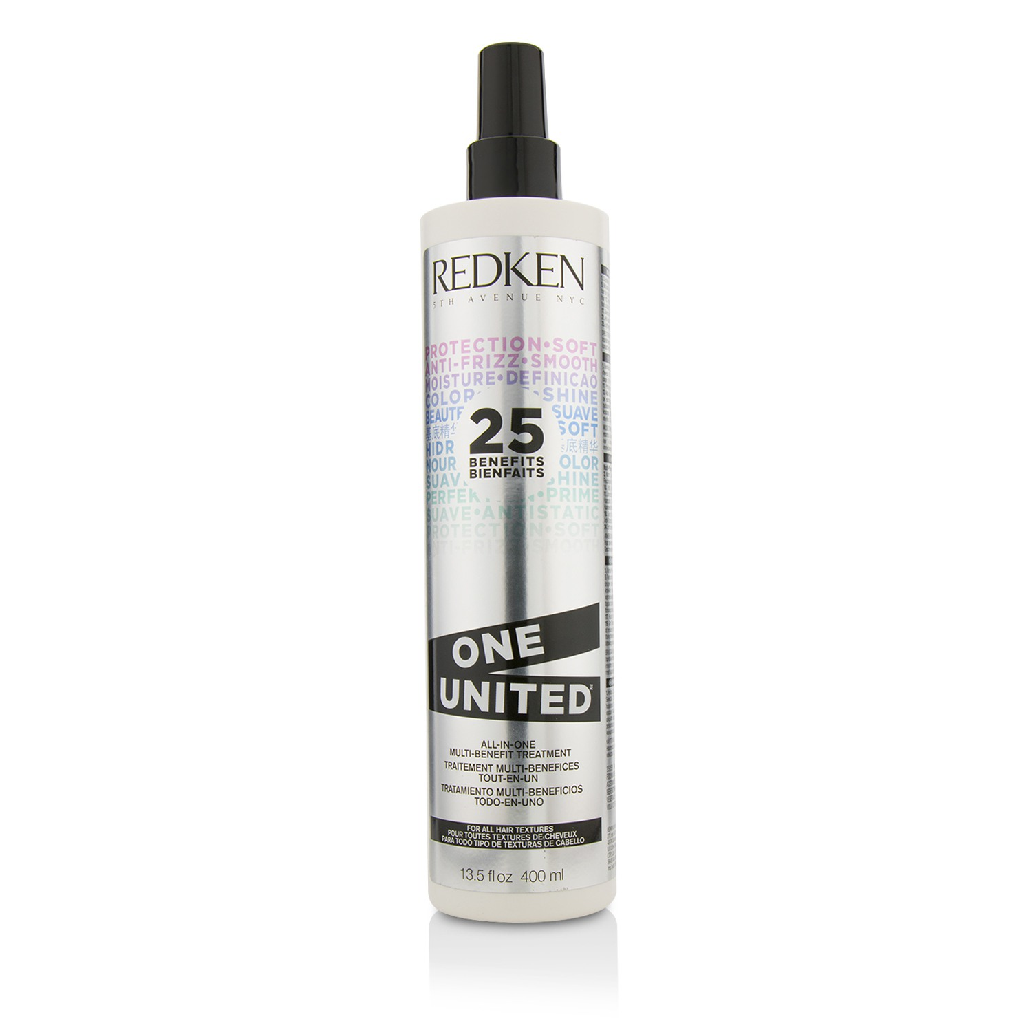 One United All-In-One Multi-Benefit Treatment (For All Hair Textures) Redken Image