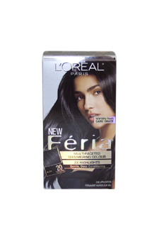 Feria-Multi-Faceted-Shimmering-Color-3X-Highlights-#-20-Black---Natural-LOreal