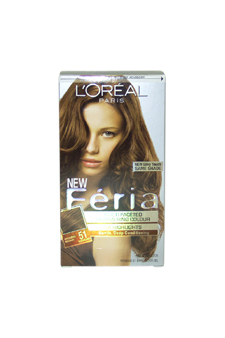Feria-Multi-Faceted-Shimmering-Color-3X-Highlights-#-51-Bronzed-Brown---Warmer-LOreal