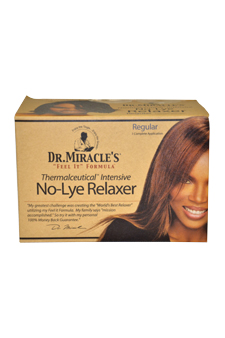 Thermalceutical Intensive No-Lye Relaxer Regular Hair Color 1 Application
