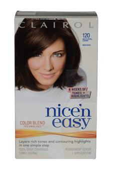 Nicen-Easy-Color-Blend-#-120-Natural-Dark-Brown-Clairol
