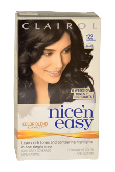 Nicen-Easy-Color-Blend-#-122-Natural-Black-Clairol