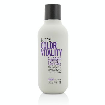 Color-Vitality-Blonde-Conditioner-(Anti-Yellowing-and-Repair)-KMS-California