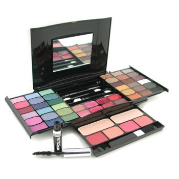 MakeUp-Kit-G2327-(-2x-Powder-36x-Eyeshadows-4x-Blusher-1xMascara-1xEye-Pencil-8x-Lip-Gloss-4x-Applicators-)-Cameleon