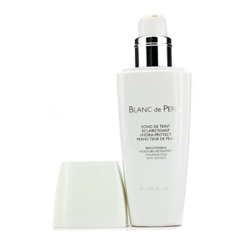 Blanc De Perle Fluid Brightening Foundation SPF 20 - # 32 Ambre Clair