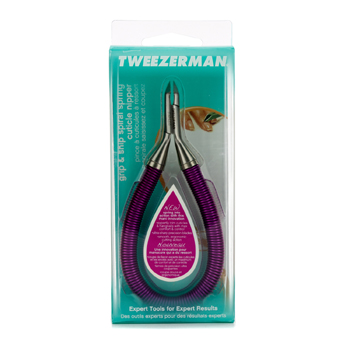 Grip-and-Snip-Spiral-Spring-Cuticle-Nipper---#-Lollypop-Berry-Tweezerman