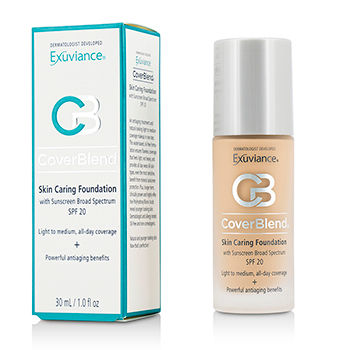 CoverBlend Skin Caring Foundation SPF20 - # True Beige