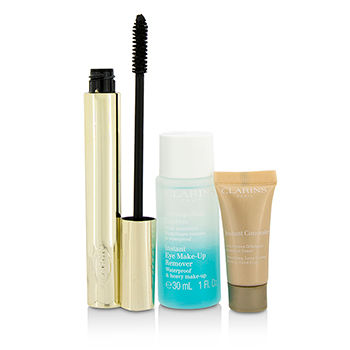 Pump-Up-The-Volume-Set:-1x-Wonder-Volume-Mascara-1x-Mini-Instant-Eye-Make-Up-Remover-1x-Mini-Instant-Concealer-Clarins