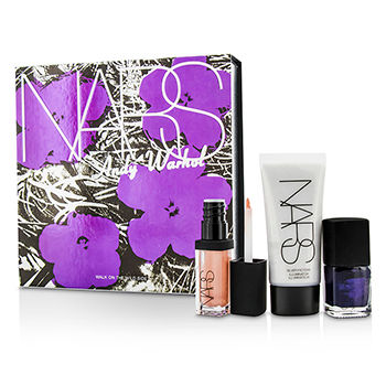 Andy-Warhol-Walk-On-The-Wild-Side-Set-(1xMini-Illuminator-1xMini-Nail-Polish-1xMini-Lip-Gloss)-NARS