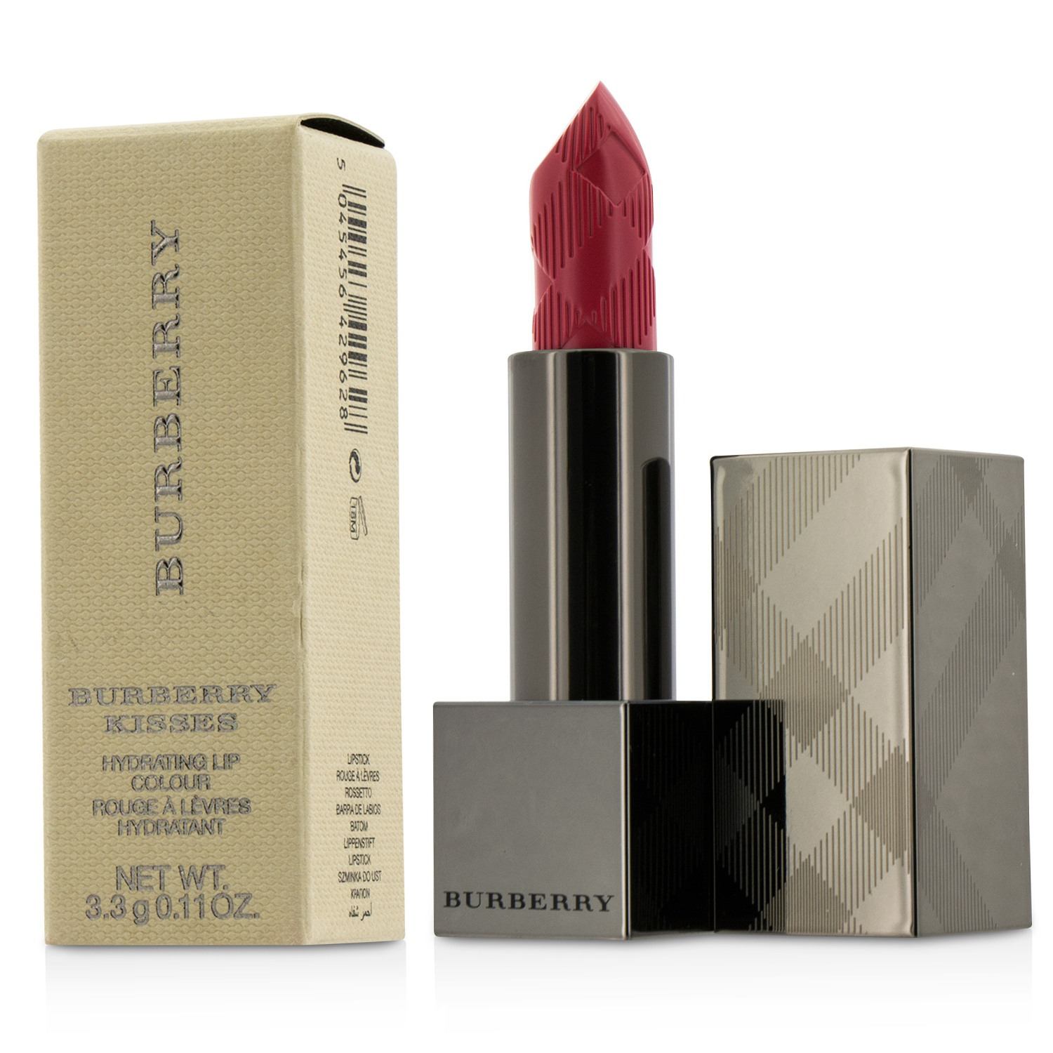 Burberry Kisses Hydrating Lip Colour - # No. 45 Claret Pink Burberry Image