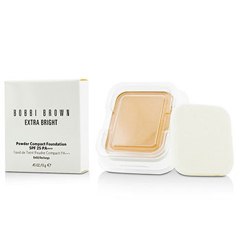 Extra-Bright-Powder-Compact-Foundation-SPF-25-Refill---#3-Beige-Bobbi-Brown