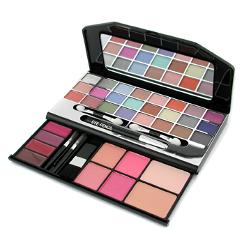 MakeUp-Kit-G1672-1-:-24xE-shdw-1xE-Pencil-4xL-Gloss-4xBlush-2xPressed-Pwd..-Cameleon
