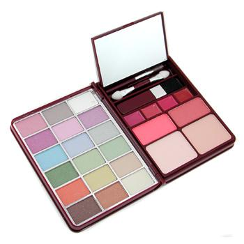 MakeUp-Kit-G0139-1-:-18x-Eyeshadow-2x-Blusher-2x-Pressed-Powder-4x-Lipgloss-Cameleon