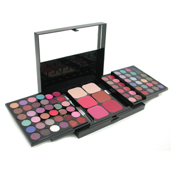 MakeUp-Kit-396-(-48x-Eyeshadow-24x-Lip-Color-2x-Pressed-Powder-4x-Blusher-5x-Applicator-)-Cameleon