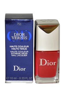 Dior Vernis Nail Lacquer # 753 Mayan Red Christian Dior Image