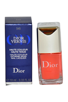 Dior Vernis Nail Lacquer # 545 Psychedelic Orange Christian Dior Image