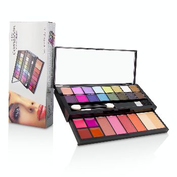 MakeUp-Kit-Deluxe-G2219-(16x-Eyeshadow-4x-Blusher-1x-Pressed-Powder-4x-Lipgloss-2x-Applicator)-Cameleon
