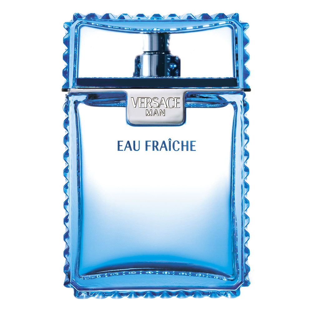 Versace Man Eau Fraiche Gift Set 100 ml EDT Spray plus 50 ml Shower Gel plus 50 ml Aftershave Balm