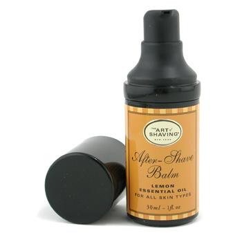 After Shave Balm - Lemon Essential Oil (Travel Size Pump For All Skin Types) The Art Of Shaving Image