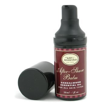 After Shave Balm - Sandalwood Essential Oil (Travel Size Pump For All Skin Types) The Art Of Shaving Image