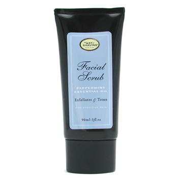 Facial-Scrub---Peppermint-Essential-Oil-(-For-Sensitive-Skin-)-The-Art-Of-Shaving