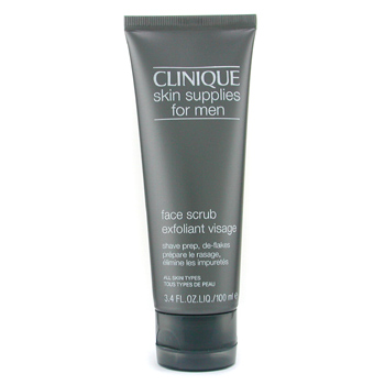 Skin Supplies For Men: Face Scrub