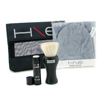 H\E-Minerals-Kit:-Lip-Balm-SPF-15---Facial-Brush---Wash-Glove---Bag-Jane-Iredale