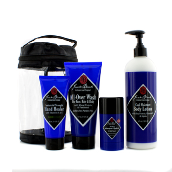 Clean-and-Cool-Body-Basic-Set:-All-Over-Wash-177ml---Hand-Healer-88ml---Body-Lotion-473ml---Deodorant-78g-Jack-Black