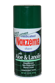 Medicated Shave Cream with Aloe and Lanolin