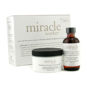 Miracle Worker: Solution 60ml/2oz + Pads 60pads