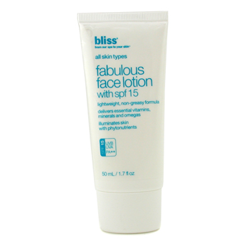 Fabulous Face Lotion with SPF 15