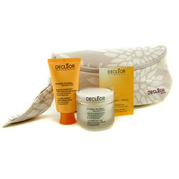 Hydra Floral Anti-Pollution Natural Beauty Collection: Cream + Mask + Aromessence Neroli + Bag