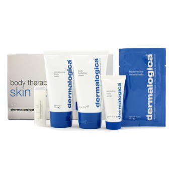 Body-Therapy-Skin-Kit:-Body-Wash---Hydrating-Crml--Exfoliating-Scrub---Climate-Control-Lip-Trt-Dermalogica