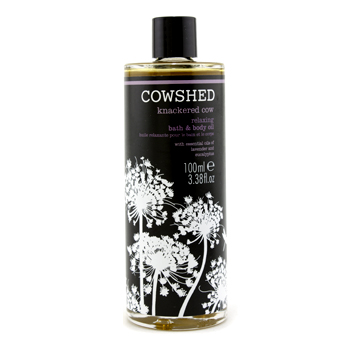 Knackered Cow Relaxing Bath & Body Oil 100ml3.38oz