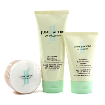 Buy Home Spa Kit personal Care - At Home Spa Kit: Peeling Masque + Hand & Foot Therapy + Body Balm by J