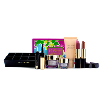 A-Gift-For-You:-Advanced-Time-Zone-15ml---Eye-Cream-5ml---Body-Lotion-30ml---Mascara---2x-Lipstick-#03-and-83---Lipstick-Caddy-Estee-Lauder