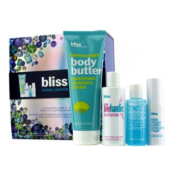 Crown-Jewels-Set:-Body-Butter-200ml---Love-Handler-118ml---Triple-Oxygen-Instant-Energizing-Mask-15ml---Face-Wash-60ml-Bliss