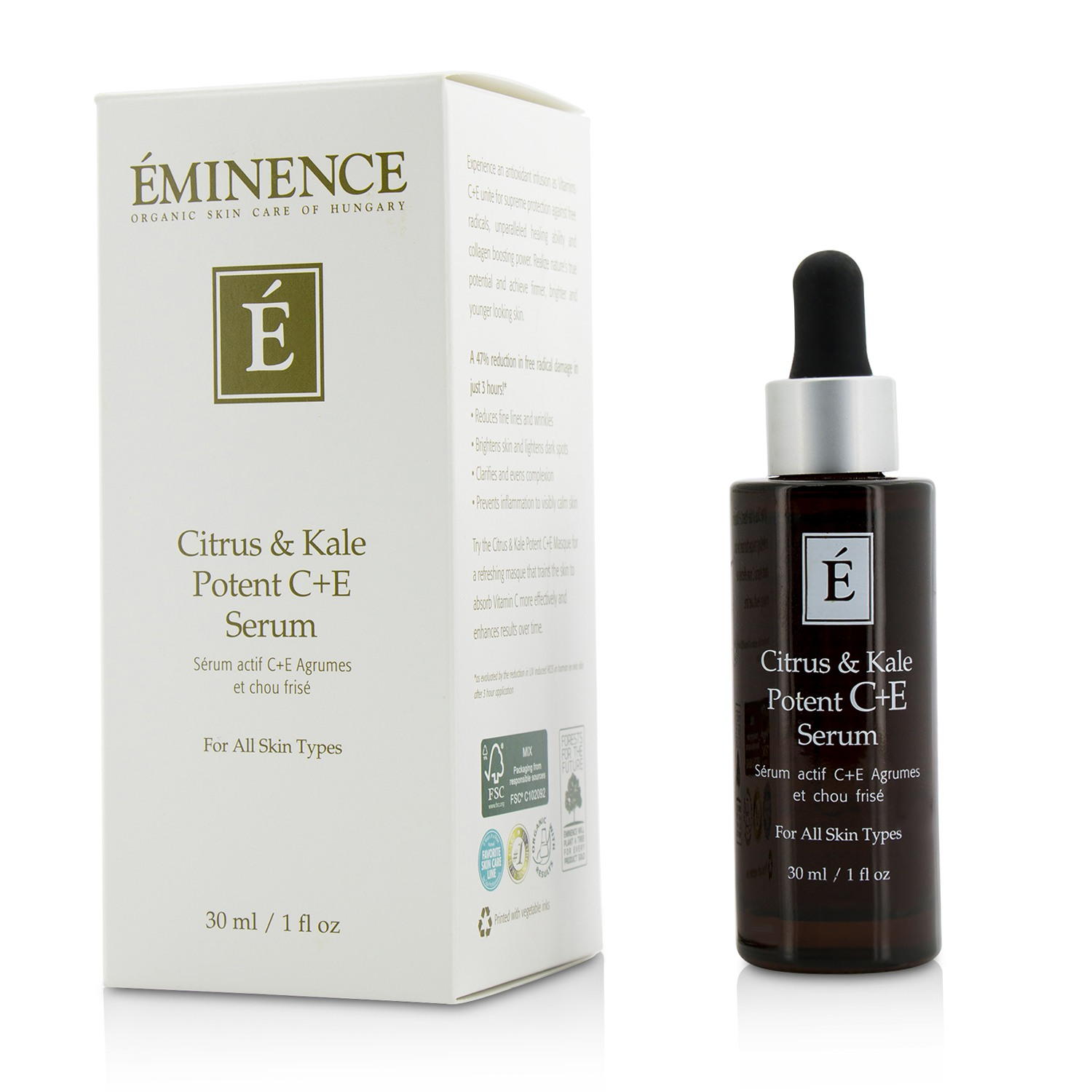 Citrus & Kale Potent C+E Serum - For All Skin Types  30ml/1oz