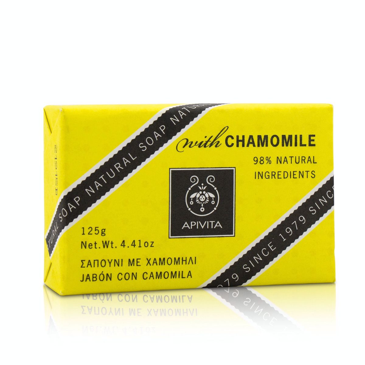 Natural Soap With Chamomile Apivita Image