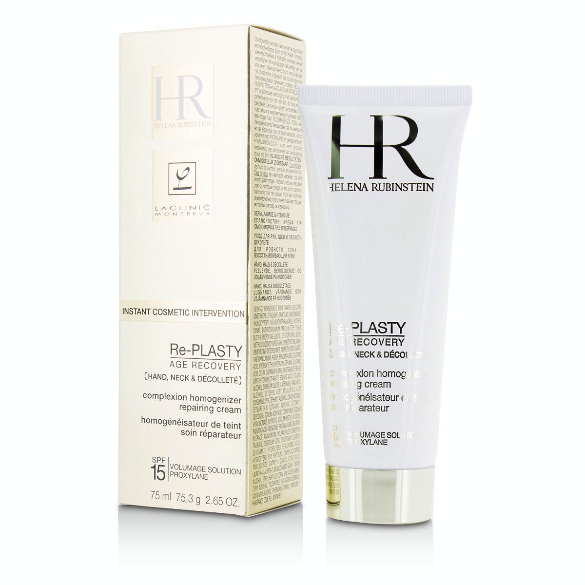 Re-Plasty Age Recovery Complexion Homogenizer Repairing Cream SPF15 - For Hand Neck  Decollete Helena Rubinstein Image