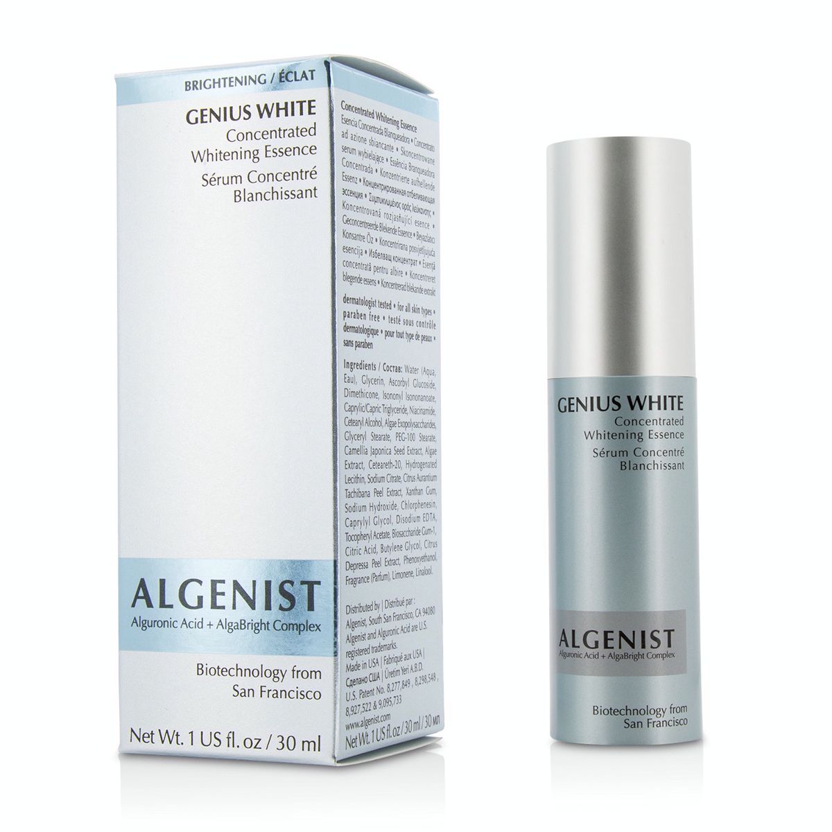 Genius White Concentrated Whitening Essence Algenist Image