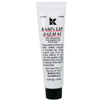 Lip Balm # 1 Tube ( SPF 4 Sunscreen Petrolatum Lip Protectant )