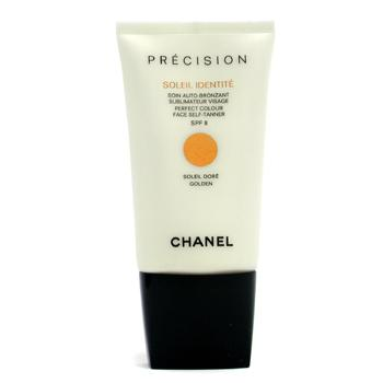 Precision Soleil Identite Perfect Colour Face Self Tanner SPF8 - Dore ( Golden )