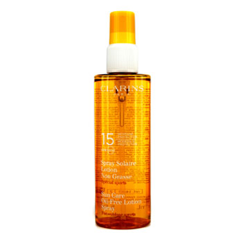 Sun-Care-Spray-Oil-Free-Lotion-Progressive-Tanning-SPF-15-(-For-Outdoor-Sports-)-Clarins